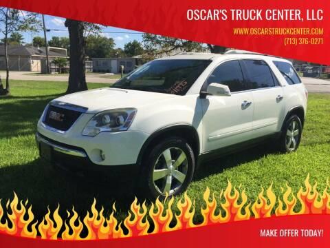 2012 GMC Acadia for sale at Oscar's Truck Center, LLC in Houston TX