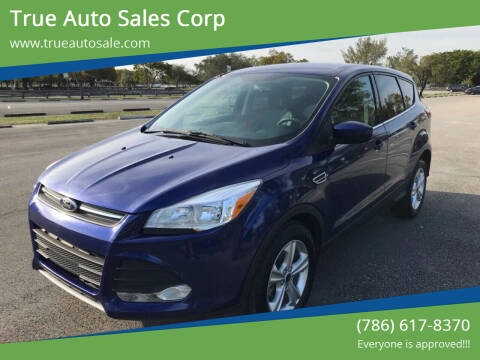 2014 Ford Escape for sale at True Auto Sales Corp in Miami FL