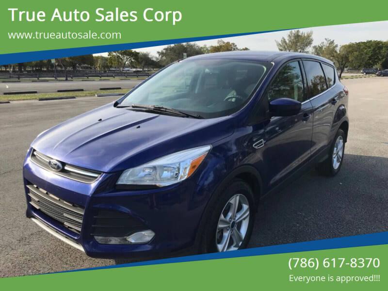 2014 Ford Escape for sale at True Auto Sales Corp in Miami FL