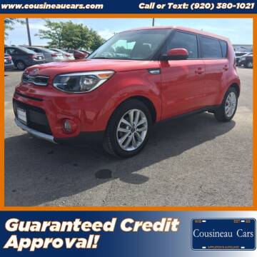 2018 Kia Soul for sale at CousineauCars.com - Guaranteed Credit Approval in Appleton WI