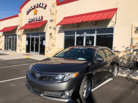 2012 Toyota Camry for sale at Gold Star Motors Inc. in San Antonio TX