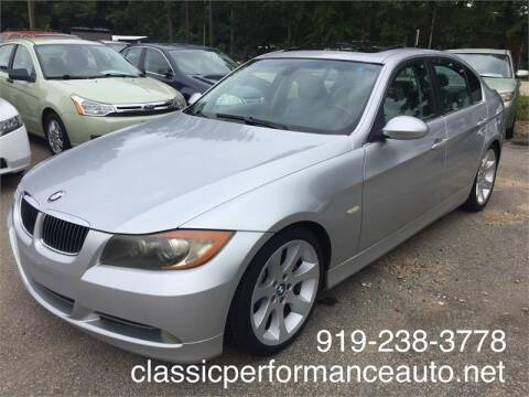 2006 BMW 3 Series for sale at Deme Motors in Raleigh NC