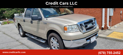 2008 Ford F-150 for sale at Credit Cars LLC in Lawrenceville GA