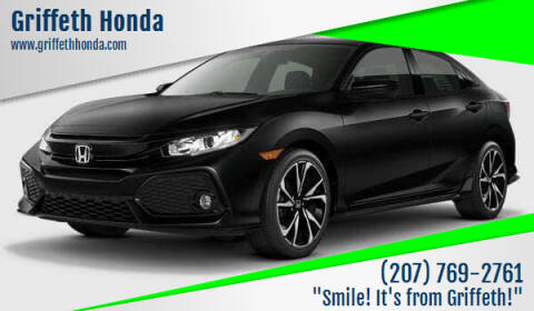 2017 Honda Civic for sale at Griffeth Honda - Pre Owned in Presque Isle ME