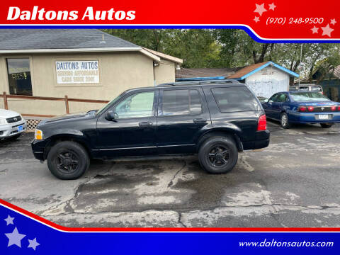 2004 Ford Explorer for sale at Daltons Autos in Grand Junction CO