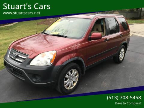 2005 Honda CR-V for sale at Stuart's Cars in Cincinnati OH