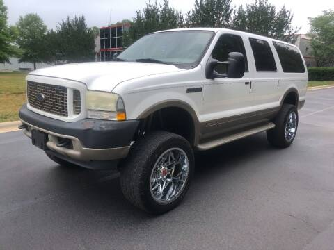 2003 Ford Excursion for sale at A&M Enterprises in Concord NC