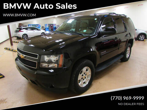 2012 Chevrolet Tahoe for sale at BMVW Auto Sales in Union City GA