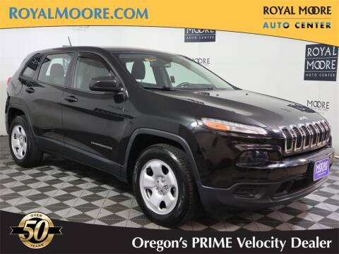 2014 Jeep Cherokee for sale at Royal Moore Custom Finance in Hillsboro OR