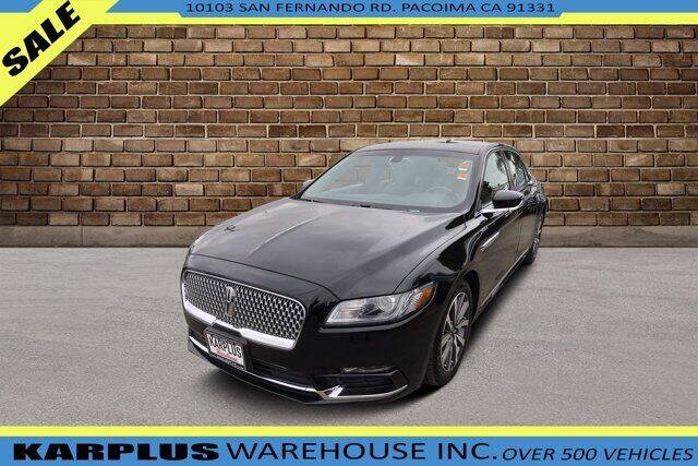 2018 Lincoln Continental for sale in Pacoima, CA