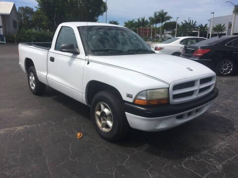 1998 Dodge Dakota for sale at CAR-RIGHT AUTO SALES INC in Naples FL