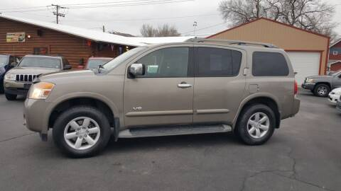 2008 Nissan Armada for sale at BRAMBILA MOTORS in Pocatello ID