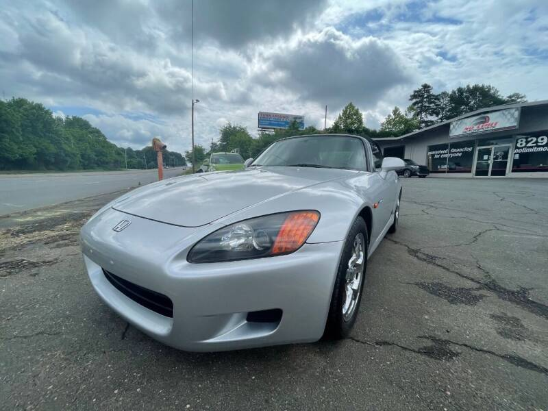 2002 Honda S2000 for sale at NO LIMIT MOTORSPORTS in Belmont NC