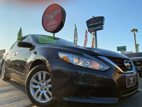2017 Nissan Altima for sale at Auto Express in Chula Vista CA