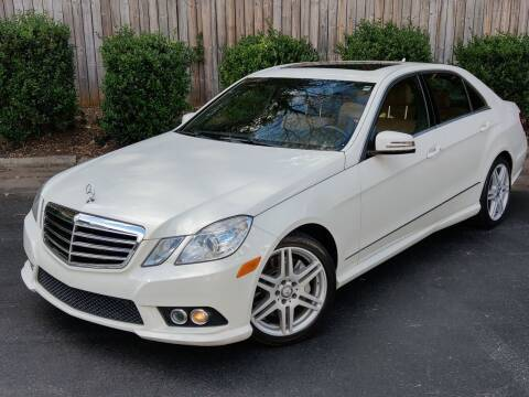 2010 Mercedes-Benz E-Class for sale at Mich's Foreign Cars in Hickory NC