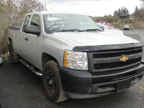 2012 Chevrolet Silverado 1500 for sale at Turnpike Auto Sales LLC in East Springfield NY