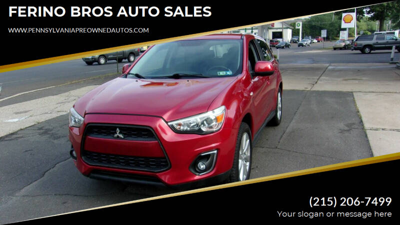 2014 Mitsubishi Outlander Sport for sale at FERINO BROS AUTO SALES in Wrightstown PA