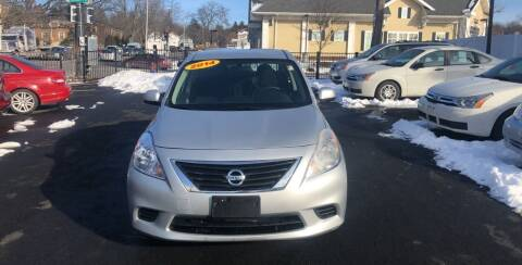 2014 Nissan Versa for sale at EMPIRE CAR INC in Troy NY