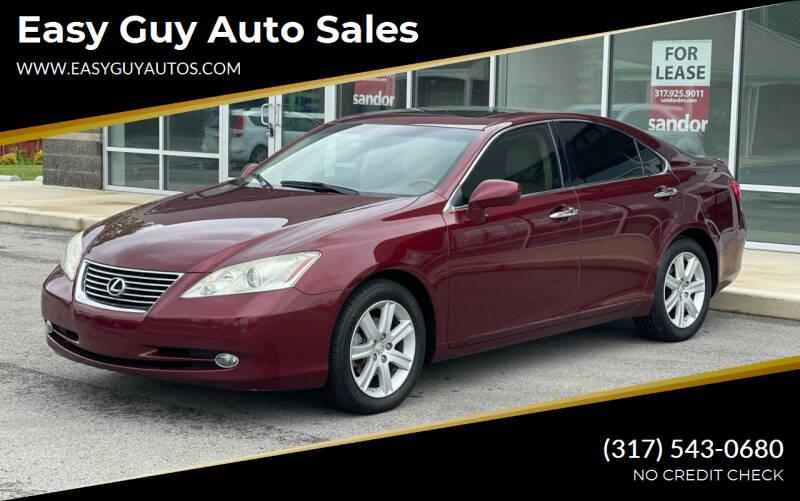 2008 Lexus ES 350 for sale at Easy Guy Auto Sales in Indianapolis IN