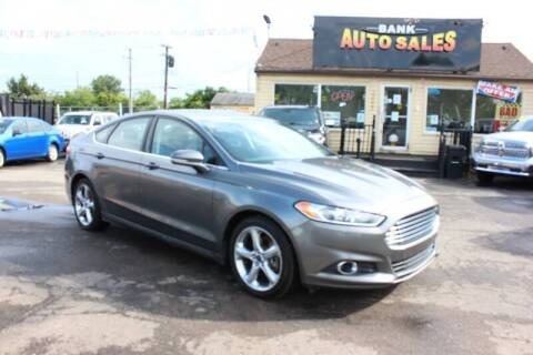 2014 Ford Fusion for sale at BANK AUTO SALES in Wayne MI