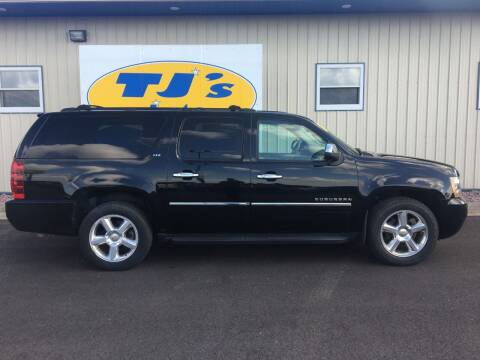 2010 Chevrolet Suburban for sale at TJ's Auto in Wisconsin Rapids WI