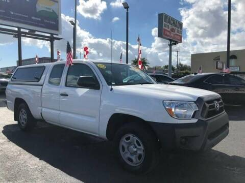 2015 Toyota Tacoma for sale at MACHADO AUTO SALES in Miami FL