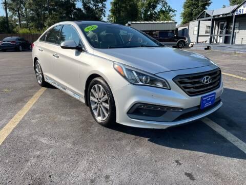 2016 Hyundai Sonata for sale at QUALITY PREOWNED AUTO in Houston TX