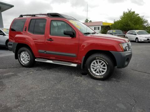 2014 Nissan Xterra for sale at Moores Auto Sales in Greeneville TN