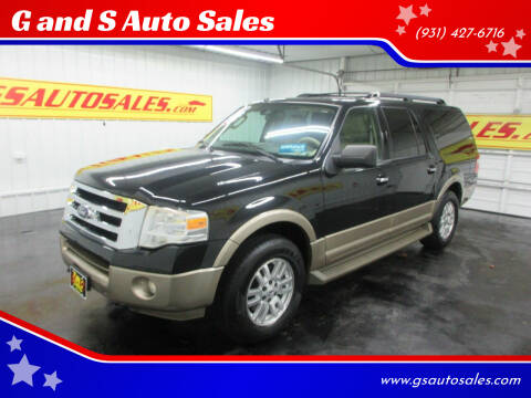 2013 Ford Expedition EL for sale at G and S Auto Sales in Ardmore TN