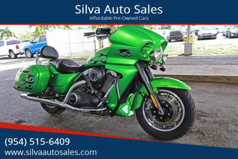 2015 Kawasaki Vulcan Vaquero for sale at Silva Auto Sales in Pompano Beach FL
