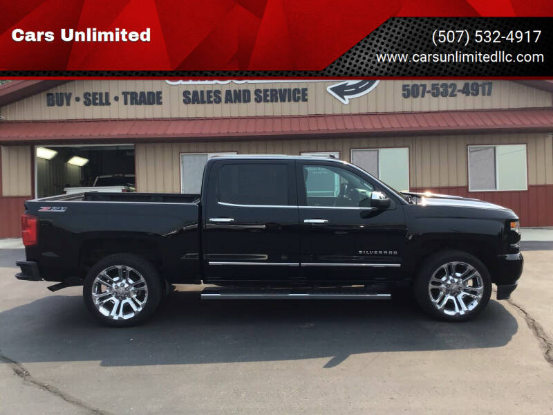 2017 Chevrolet Silverado 1500 for sale at Cars Unlimited in Marshall MN