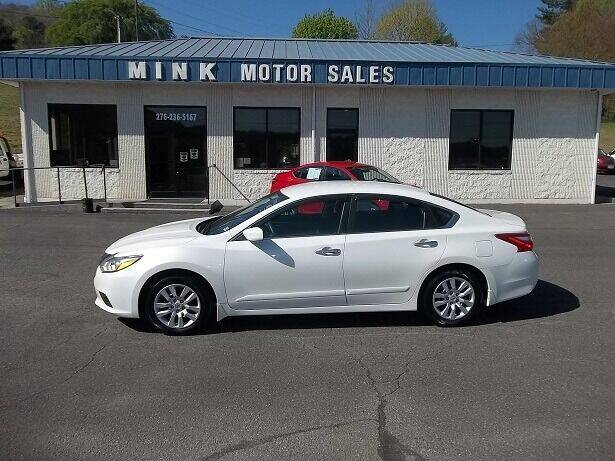 2016 Nissan Altima for sale at MINK MOTOR SALES INC in Galax VA
