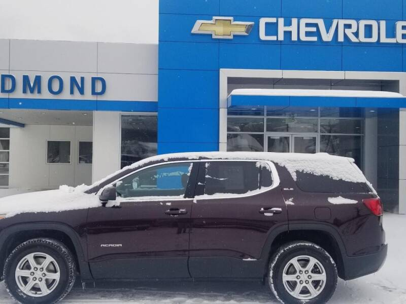 2017 GMC Acadia for sale at EDMOND CHEVROLET BUICK GMC in Bradford PA