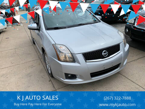 2010 Nissan Sentra for sale at K J AUTO SALES in Philadelphia PA