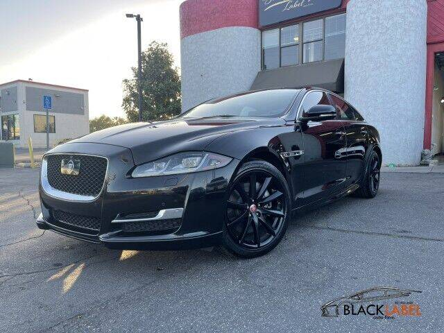 2016 Jaguar XJ for sale at BLACK LABEL AUTO FIRM in Riverside CA