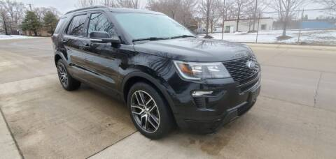 2019 Ford Explorer for sale at Western Star Auto Sales in Chicago IL