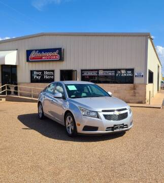 2014 Chevrolet Cruze for sale at Chaparral Motors in Lubbock TX
