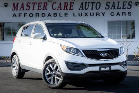 2015 Kia Sportage for sale at Mastercare Auto Sales in San Marcos CA