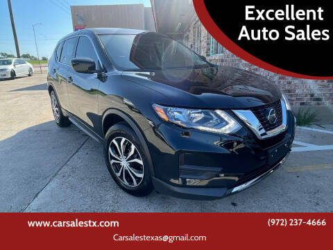 2020 Nissan Rogue for sale at Excellent Auto Sales in Grand Prairie TX