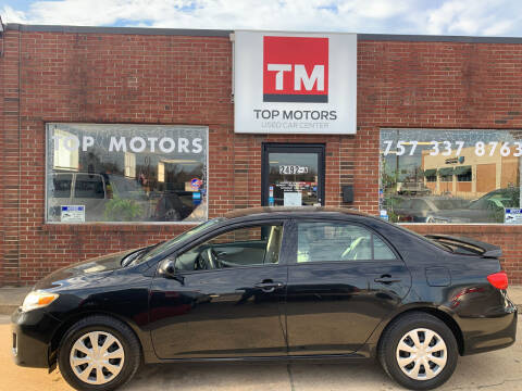 2011 Toyota Corolla for sale at Top Motors LLC in Portsmouth VA