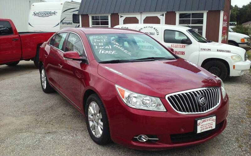 2013 Buick LaCrosse for sale at Bob's Garage Auto Sales and Towing in Storm Lake IA