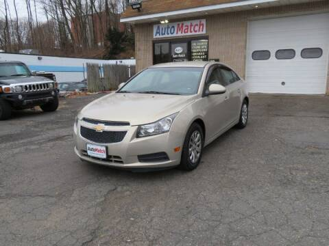 2011 Chevrolet Cruze for sale at Auto Match in Waterbury CT