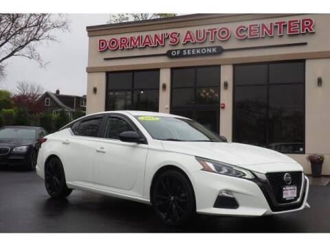 2019 Nissan Altima for sale at DORMANS AUTO CENTER OF SEEKONK in Seekonk MA