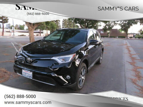 "2017 Toyota RAV4 for sale at SAMMY""S CARS in Bellflower CA"