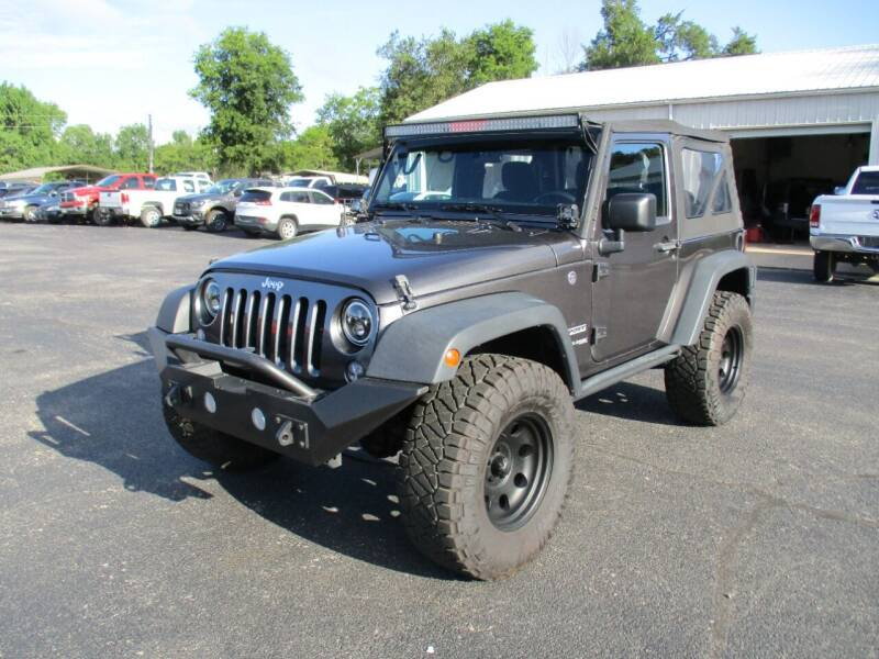 2018 Jeep Wrangler JK for sale at Jones Auto Sales in Poplar Bluff MO