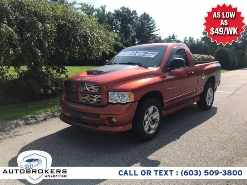 2005 Dodge Ram Pickup 1500 for sale at Auto Brokers Unlimited in Derry NH