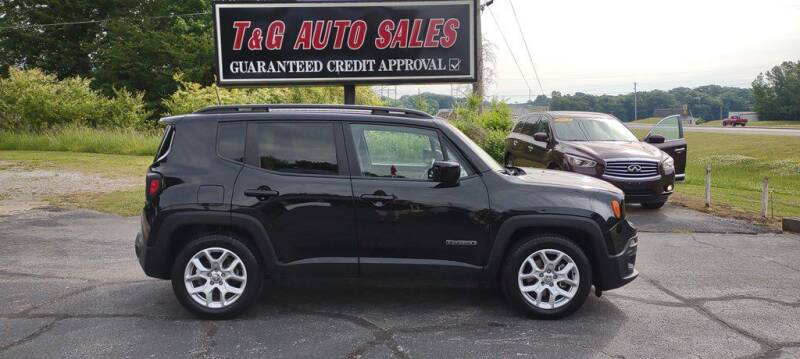 2018 Jeep Renegade for sale at T & G Auto Sales in Florence AL