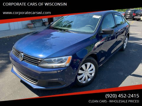 2014 Volkswagen Jetta for sale at CORPORATE CARS OF WISCONSIN in Sheboygan WI