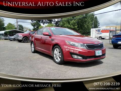 2012 Kia Optima for sale at Universal Auto Sales Inc in Salem OR
