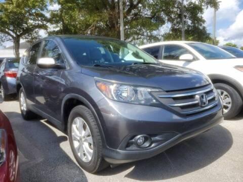 2014 Honda CR-V for sale at DORAL HYUNDAI in Doral FL